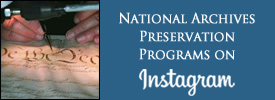 National Archives Preservation Programs on Instagram