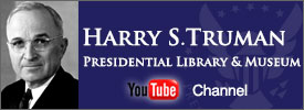 Harry S. Truman Presidential Library and Museum YouTube Channel