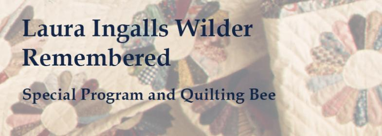 Laura Ingalls Wilder event at Hoover Library September 1