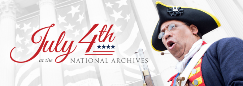 July 4th at the National Archives