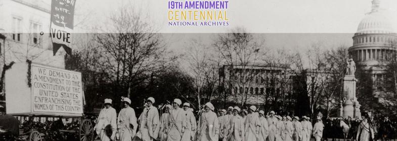 1913 suffrage march in Washington DC