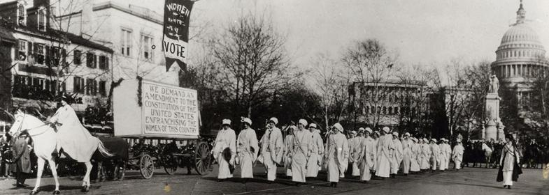 Women's March on Washington for voting rights