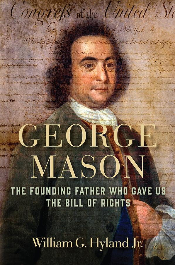 Book cover of George Mason biography