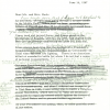 President Johnson's draft response to Mr. and Mrs. Keck.
