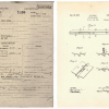 "A cover sheet or ""jacket"" for Patent 2095951 tracks the documents from start to finish for ""coasting bob-sleds"" as submitted by Ronald Andrus in 1936. (Record Group 241: United States Patent and Trademark Office, Patent Case files, 1836-1976. National Arc"