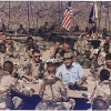President Bush shares Thanksgiving with troops during Desert Shield