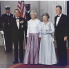 President Bush and Queen Elizabeth
