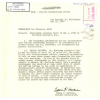 A declassified memorandum discusses UFOs and covers the visit of Edwin P. Hartman, Western Coordinator, National Advisory Committee for Aeronautics, Office of the Coordinator of Research, on May 3, 1950 to Northrop Aircraft, Inc. (Record Group 255, Refere