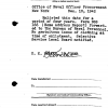 Kirk Douglas's naval reserve service record