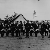3. A regimental fife-and-drum corps.