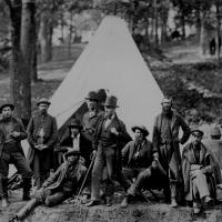 17. Scouts and guides for the Army of the Potomac, Berlin, Md., October 1862.