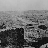 88. Ruins of Stone Bridge, Bull Run, Va., March 1862.