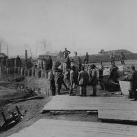 89. Confederate fortifications, Manassas, Va., March 1862.