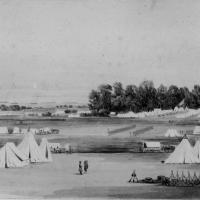 90. 'General Headquarters near Yorktown, Va., April 1862.'