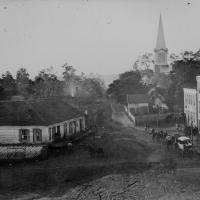94. Street scene, Warrenton, Va., ca. 1862.