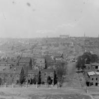 116. High-angle view toward the capitol, 1862.