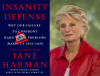 Jane Harman and book cover of Insanity Defense