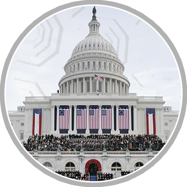 Presidential Inaugurations icon portal graphic