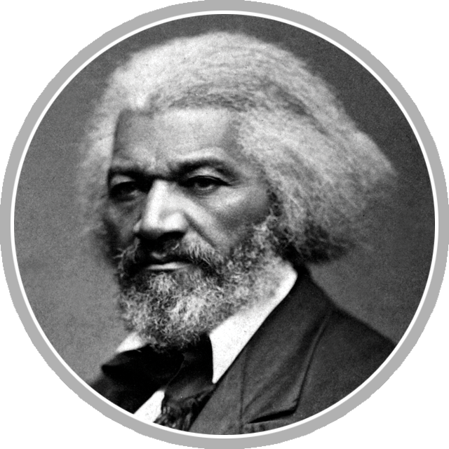 Portrait of Frederick Douglas