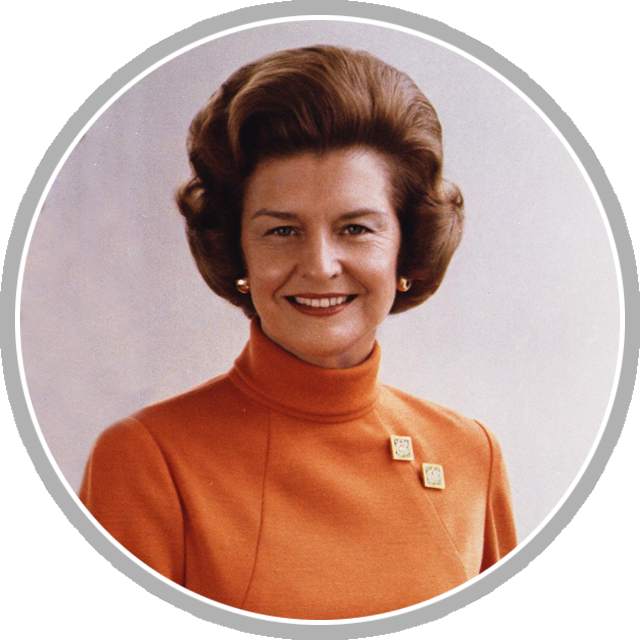 Betty ford portrait