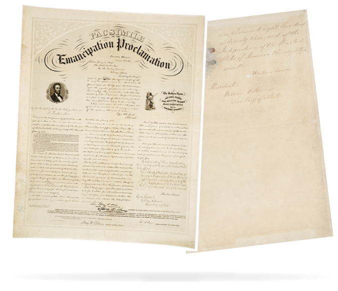 Facsimile of the Emancipation Proclamation