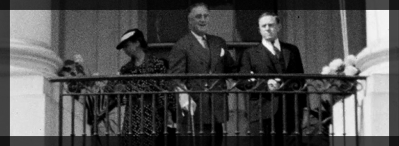 Rare home movies show FDR walking