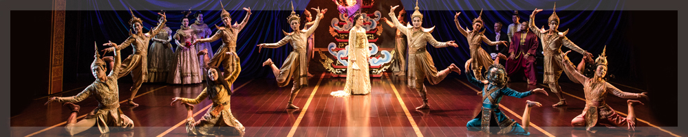 The cast of the King and I banner image file for the top of the page.