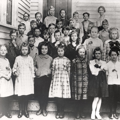 Ronald Reagan's class picture