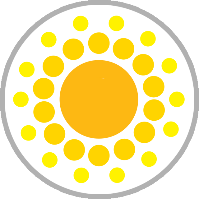 Sunshine week graphic icon